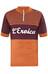 Santini L'Eroica Gaiole in Chianti Cykeltrøje korte ærmer Herrer orange/rød
